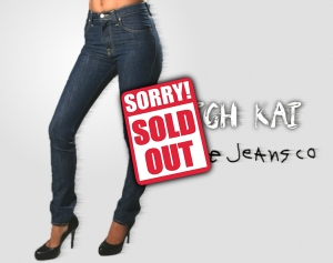 Stock clothes Women Nudie jeans (Superslim)  image sold