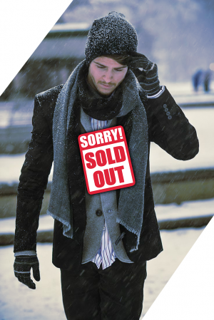 Stock clothes Men winter mix image sold