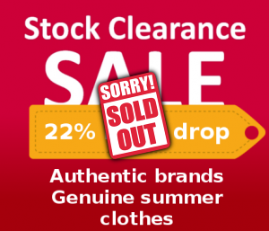 Stock clothes Authentic brands clothes sale out! image sold