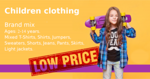 Stock clothes Summer kids mix image