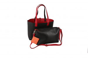 Stock clothes Black/Red woman bag image