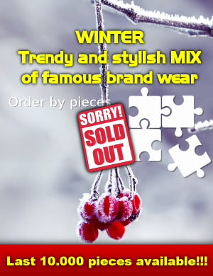 Stock clothes WINTER Trendy and stylish MIX 1 image sold