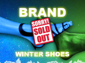 Stock clothes Brand leather winter shoes image sold