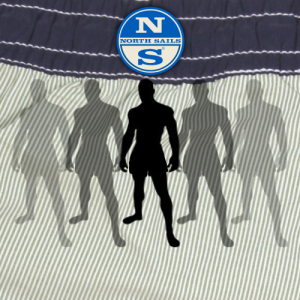 Stock clothes Men boxers stock image
